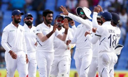 Ajinkya Rahane, Jasprit Bumrah and Ishant Sharma Script Record Test Victory for India Over West Indies
