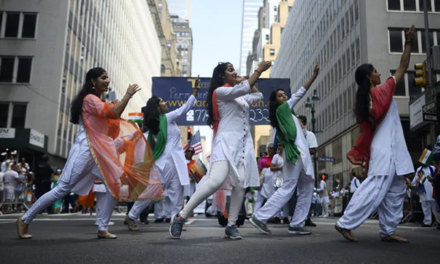 India Day Parade In New York Features Gandhi, Tricolour, Bollywood Stars