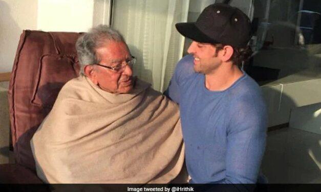 Filmmaker J Om Prakash, Hrithik Roshan's Grandfather, Dies At 93