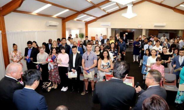 Australian Citizenship Ceremony Held