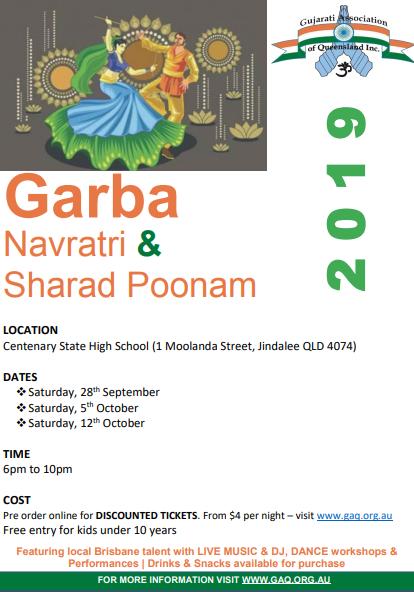 Garba Navratri 2019