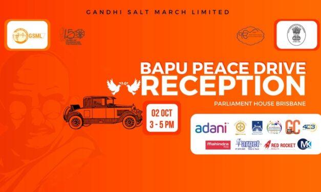 Bapu Peace Drive Advocates for National Harmony On Gandhi's 150th Birthday Celebrations