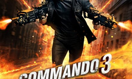Commando 3: Pop goes patriotism again (IANS Review, Rating)
