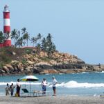 Kovalam, known for its beaches