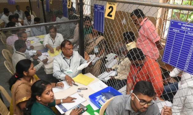 Karnataka bypoll results: Counting of votes begins
