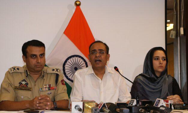 IG Armed Kashmir Shifted To Cabinet Secretariat