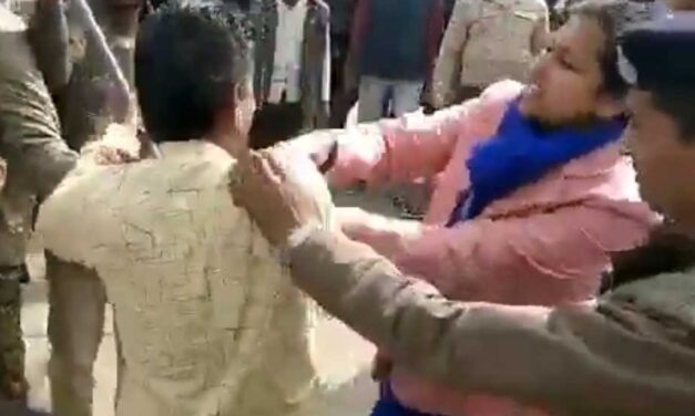MP BJP Leader Held for Objectionable Remark Against Collector