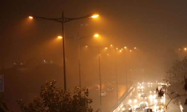Moderate Fog In Delhi, AQI Improves