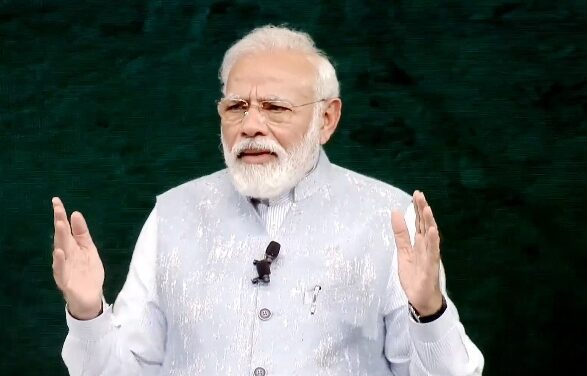 Modi Pays Homage To Bal Thackeray On His Birth Anniversary