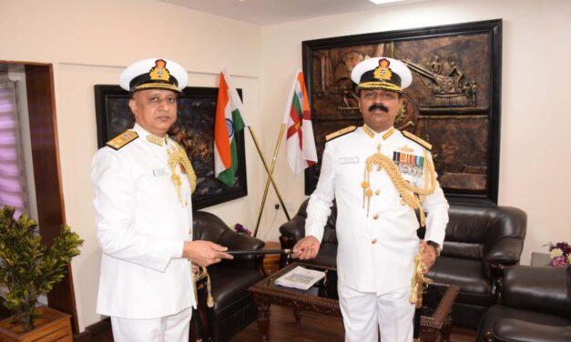 Naval Dockyard Visakhapatnam Gets New Admiral Superintendent