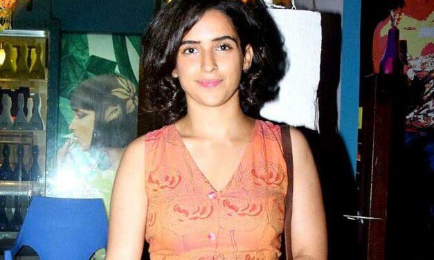 Sanya Malhotra Lives To Create Experiences Worth Remembering