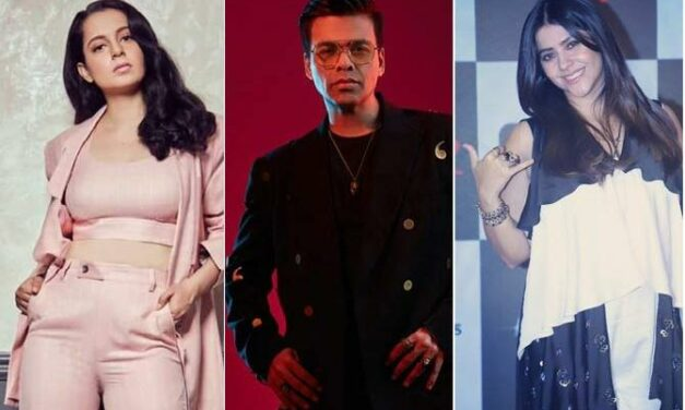 Congratulations Pour In for Karan Johar, Kangana Ranaut, Ekta Kapoor On Getting Padma Shri