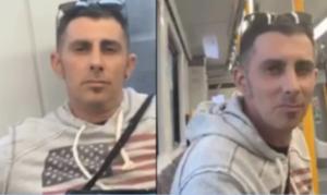 Brisbane train masturbation man wanted