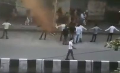Flash Protests In Hyderabad Against Delhi Violence