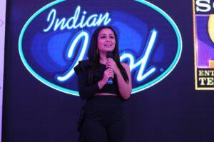 Indian Idol co-judge and singer Neha Kakkar
