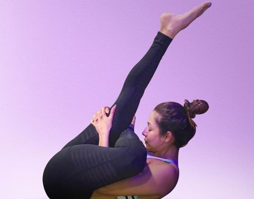 Malaika Nails A New Yoga Posture