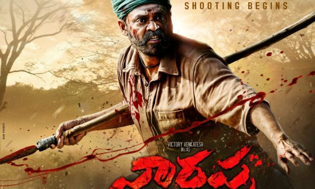 Venkatesh Starts Shoot for Asuran Telugu Remake