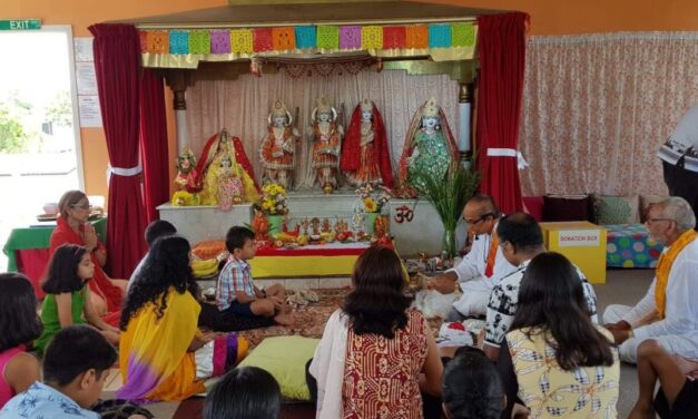 Gayatri Mandir's 28th Anniversary Celebrated