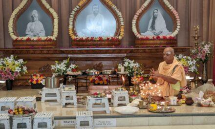 Swami Vivekananda's Birthday Celebrated At Vedanta Centre