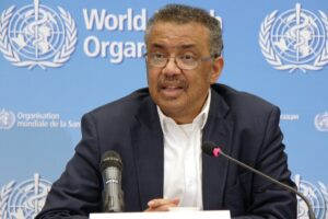 WHO director Tedros Adhanom Ghebreyesus