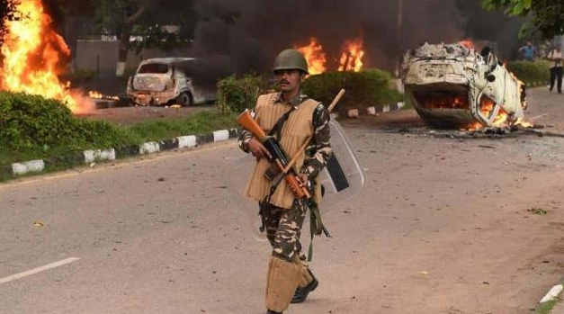Security Beefed Up In Neighbouring Haryana After Delhi Violence