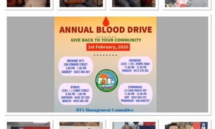 BTA arranges blood donation camp in four Brisbane centres