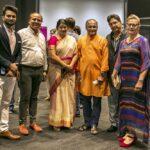 (From left) Allan John, Paviter Kumar Noori, Mrs Mohan, Dr Ram Mohan, Pushpinder Oberoi, Karla Oberoi