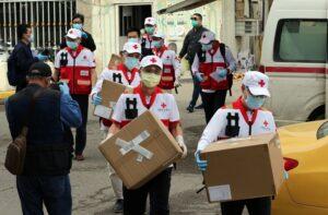 COVID-19 outbreak in Iraq work in Baghdad