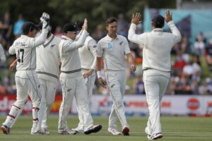 NZ thrash India in Christchurch Test, clinch series 2-0 (Lead)