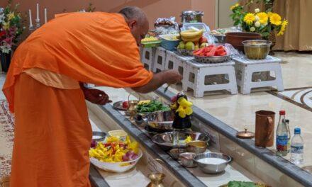 Lord Shiva revered at Vedanta Centre