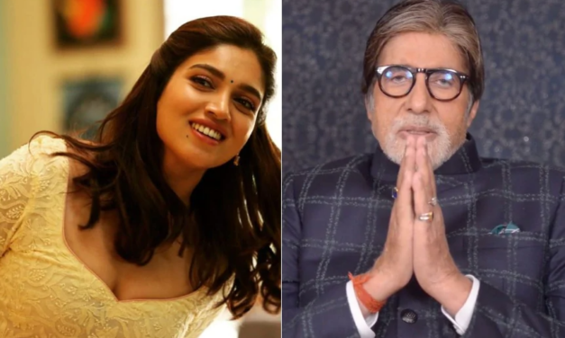 Amitabh Bachchan Is Upset As Bhumi Calls Him 'Baller', Says 'Nobody's Telling Me What It Means'