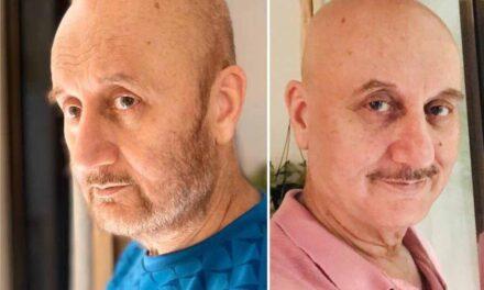 Anupam Kher grows a beard after 37 years