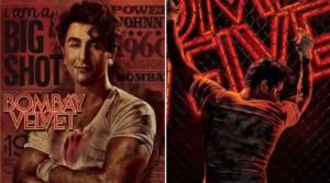 Bombay Velvet posters featuring Ranbir Kapoor