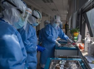 China-hubei-wuhan-medical workers