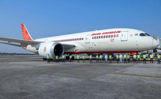 Air-India's first evacuation flight to K'taka lands in B'luru
