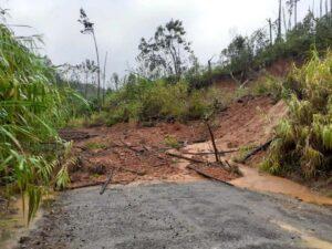 landslide on the southern island of Kadavu