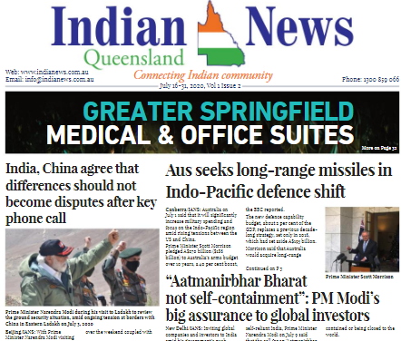 India News – July 16-31, 2020 Vol 1 Issue 2