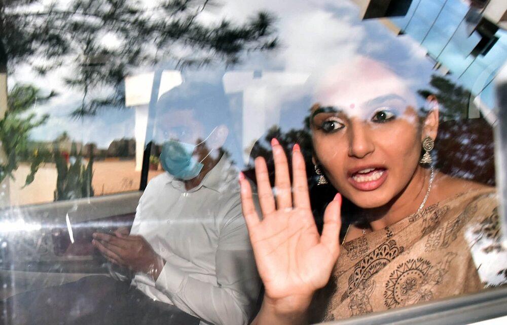 Kannada film actress Ragini arrested in drugs case