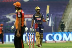 Gill stars as clinical KKR thrash SRH by 7 wkts