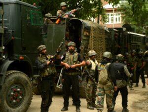 Kashmir gunfight over, 3 terrorists & woman killed