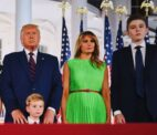 Trump's youngest son Barron had Covid-19, now negative