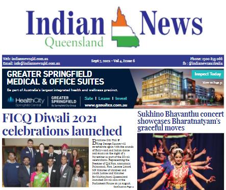 Indian News Queensland – September 2021 – Vol 4 Issue 6