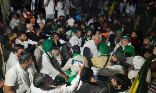 Kisan Mahapanchayat: Meet, march, gherao in Karnal